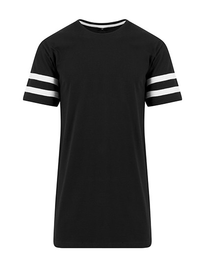 BY032 Build Your Brand Stripe Jersey Tee